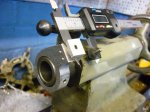 Tailstock vernier attachment